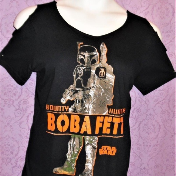 NonisBaggage101 Tops - Disney Star Wars Realtree Camo cut out DIY t shirt